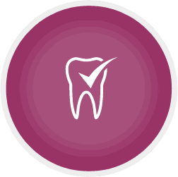 tooth check icon