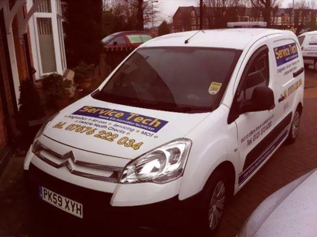 mobile van