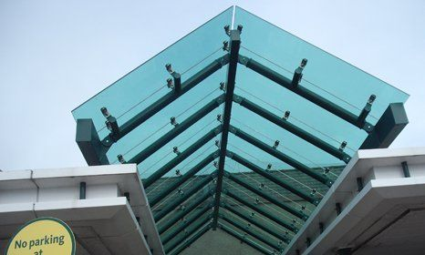 high-quality glazing