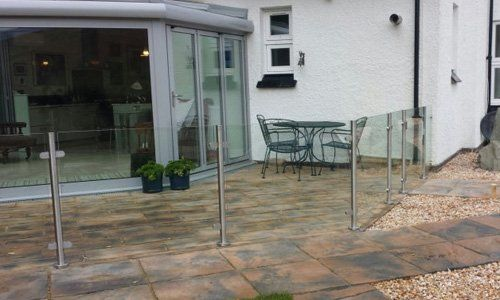 Ready-to-install modular balustrade