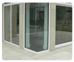 infinity glass corner