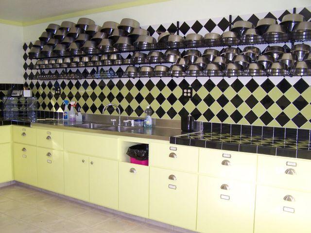 pet's meals prepared in clean effecient kitchen