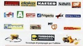 Immagine di un banner con tutti i fornitori della compagnia