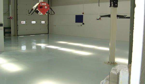 non slip factory flooring