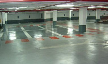 epoxy multi storey car park floor