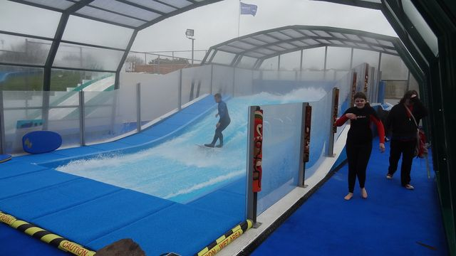 indoor surf area