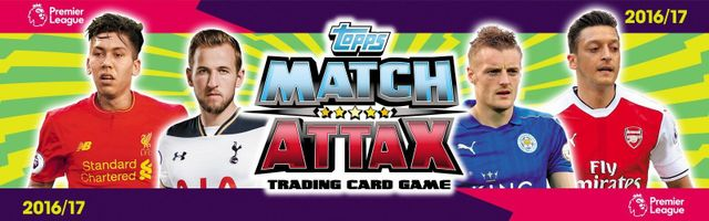 Match Attax 2016