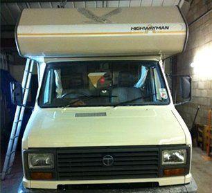 van for repair