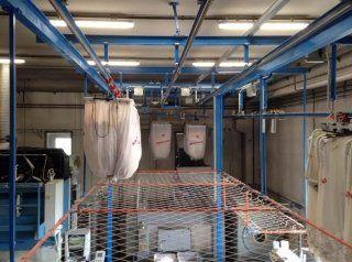 impianto di lavaggio industriale