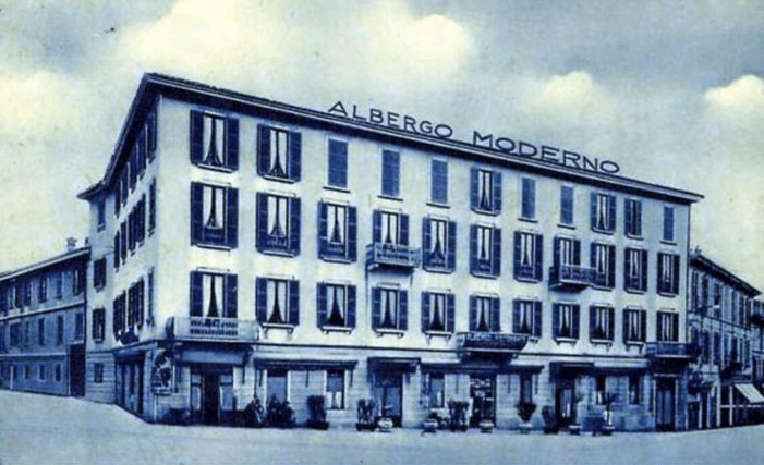 Hystorical Lage des Hotels in Lecco