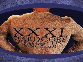 XXXL HARDCORE graphic