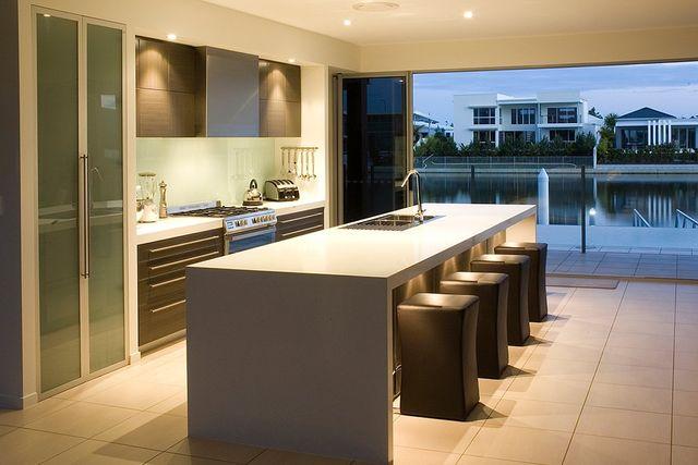 Beautiful kitchen stone benchtop