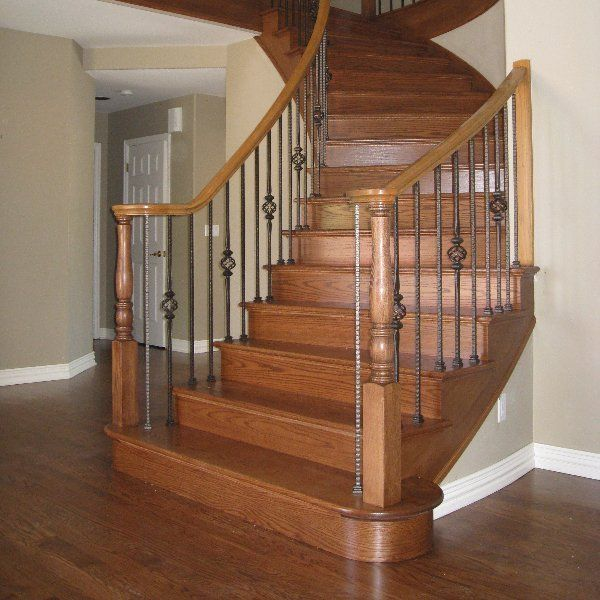 Create sweeping, curved stair creations