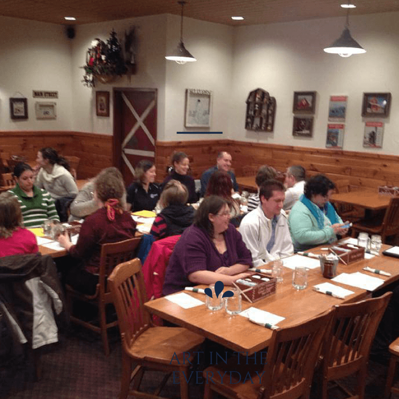 we can accommodate large groups and meetings in Shawano Wisconsin