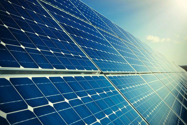 Dei pannelli fotovoltaici