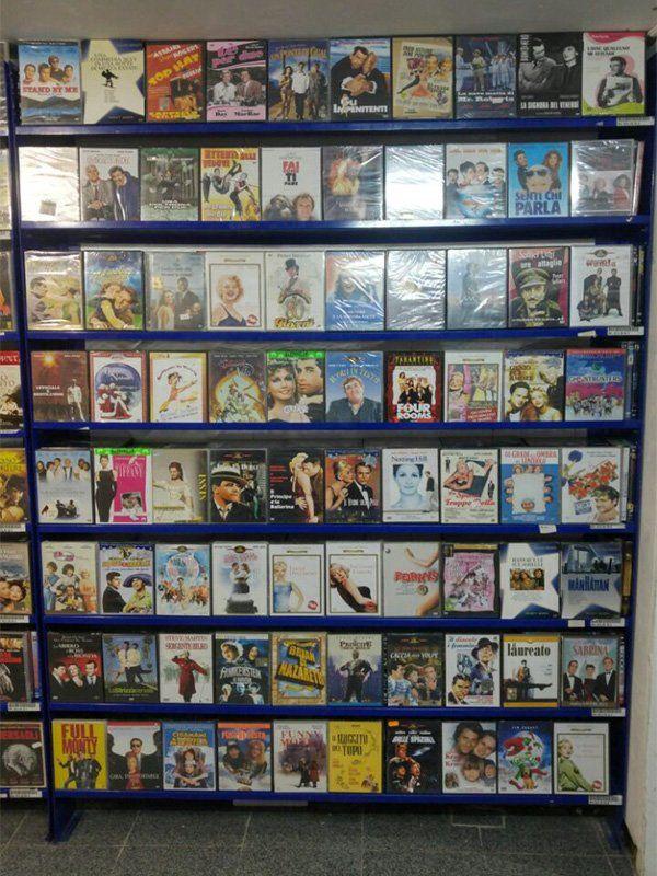 Vasto assortimento film in DVD