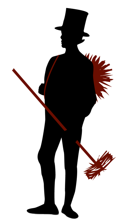 graphic of a chimney sweeper