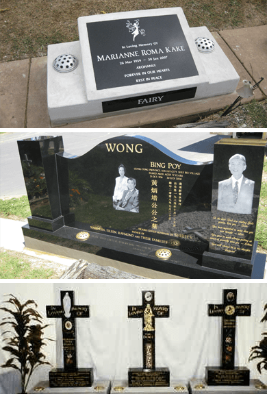 Auckland headstones complete with memorial engraving