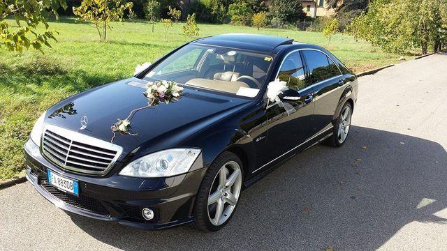 Noleggio Mercedes per matrimoni nel Nord Italia