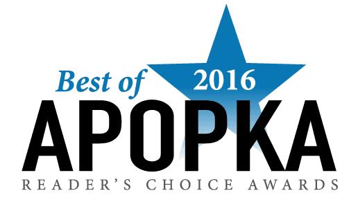 Best of Apopka 2016 Award Logo