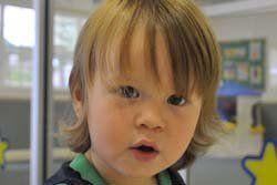 Boy in StarChild Academy's Toddler Care Program