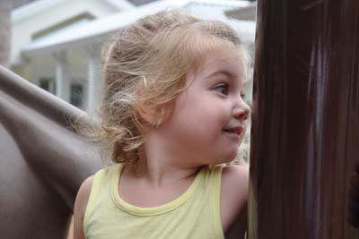 Girl in StarChild Academy's Preschool Program
