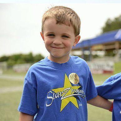 Three Boys in Orlando City Youth Soccer Class