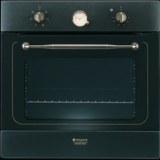 un forno nero