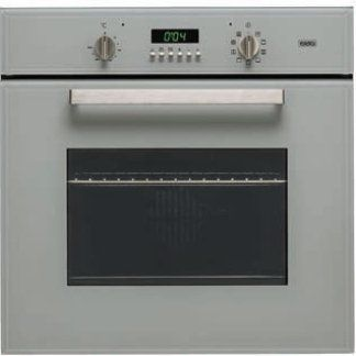 un forno di color grigio