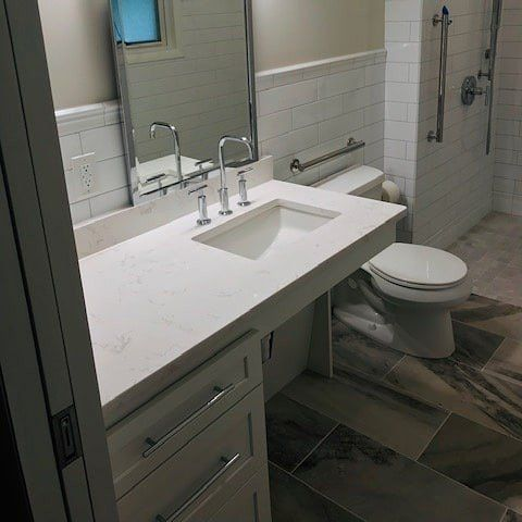 Ada Accessible Vanities Available At Kitchen Sales