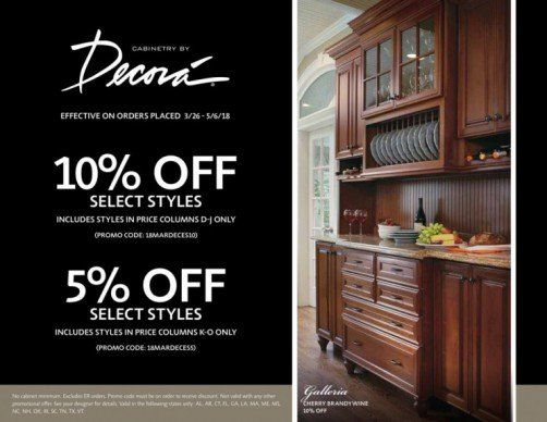 Specials - Knoxville, TN - Kitchen Sales