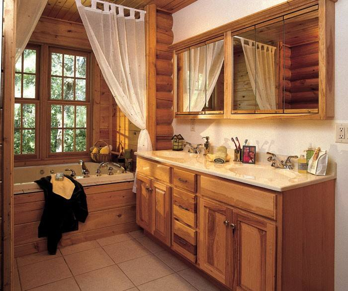 Natural Hickory Cabinets at Kitchen Sales Knoxville TN