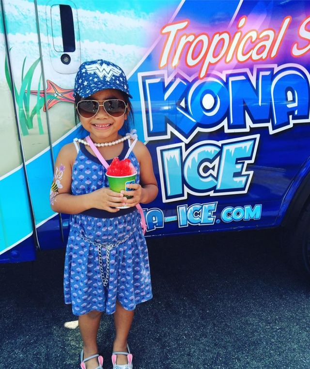 Kona Ice Truck at Wildomar Discount Tire Centers grand opening