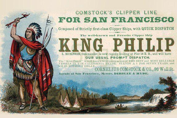 KING PHILIP graphic