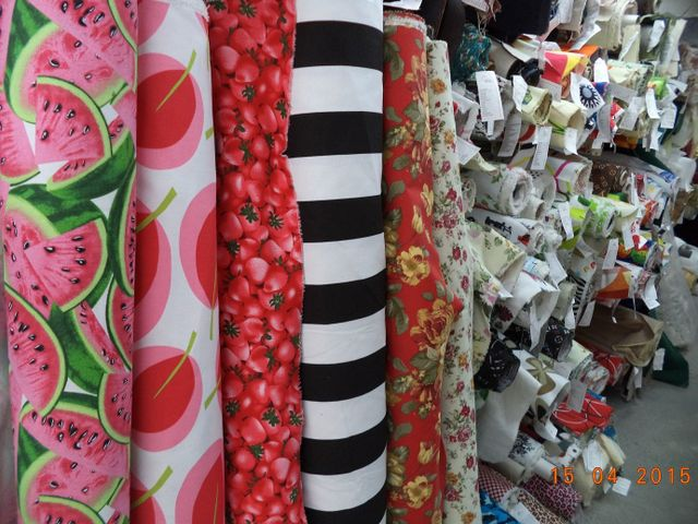 Textiles from an Auckland store