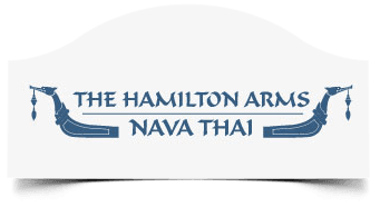 The Hamilton Arms Nava Thai logo