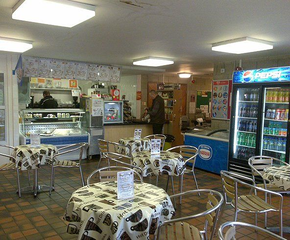 Royd Ices' cafe