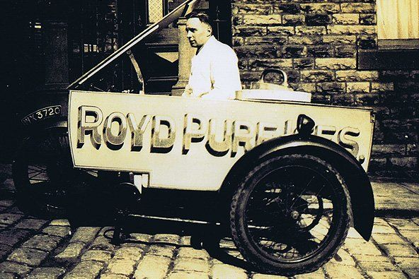 Original trike used by Royd Ices in the earlier days of the business