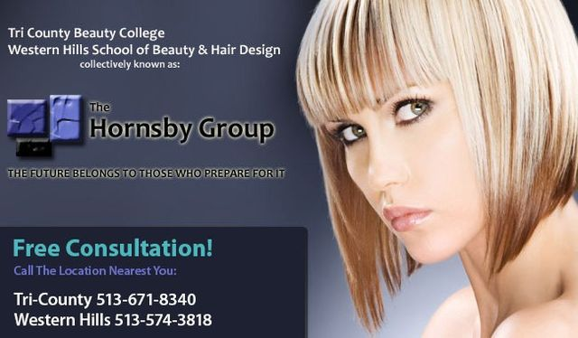 The Hornsby Group logo for Beauty and Hair design