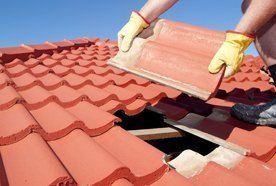 Slope roof tiles