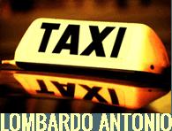 TAXI LOMBARDO ANTONIO - LOGO