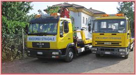 camion per il soccorso stradale