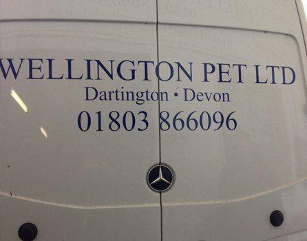 Wellington Pet Ltd van