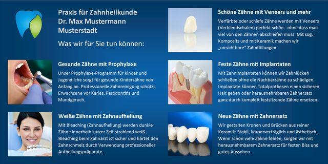 Die ZahnarztCard: Wirkungsvoller als eine Visitenkarte