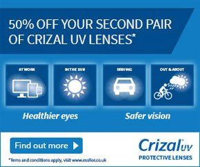 London - University Vision Opticians - UV lense