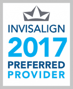 Invisalign 2017 Preferred Provider Badge