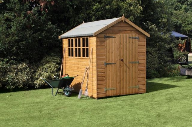Haven timber not just timber quality and competitively for Garden sheds built on site