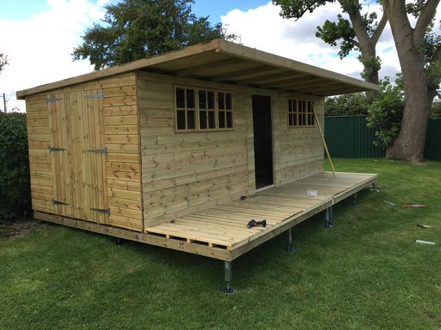 Haven Timber Quality Timber Frame Shedbed The Easy To