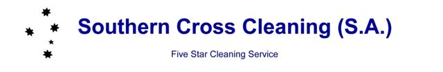Southern cross cleaning logo large