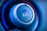 image d'un bouton d'air climatisé dans un véhicule